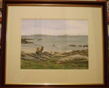 anchor beach framed