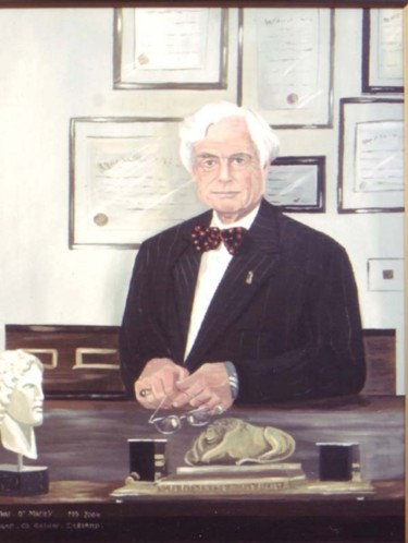portrait of dr leo