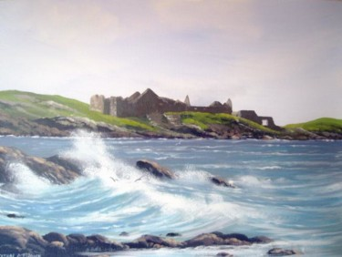 cromwells castle inishbofin,co galway,ireland