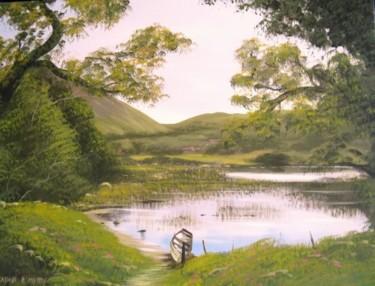 kylemore lake scene