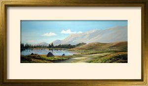 inagh valley print framed