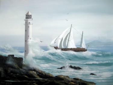 ship through a storm