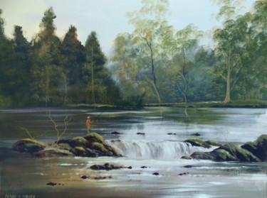 river fishing  july