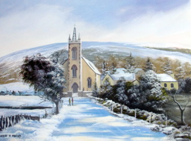 winter scene  loughguile