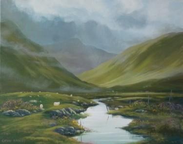 valley sheep ,connemara