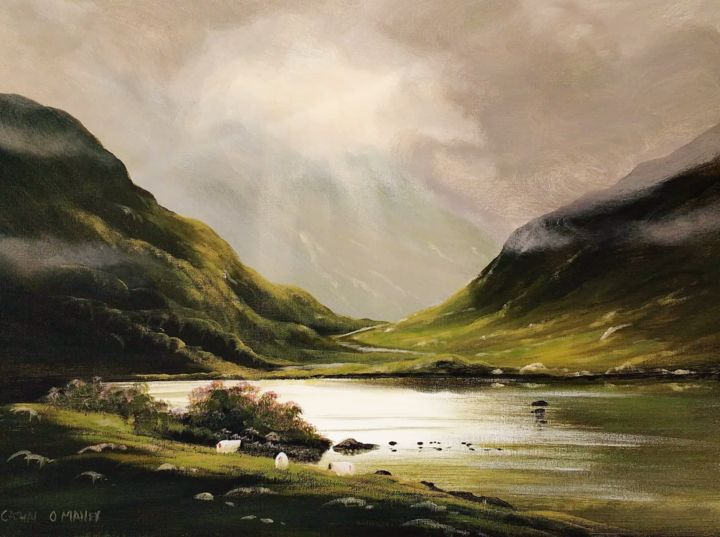 Cathal O Malley - morning clouds