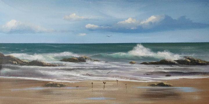 Cathal O Malley - cleggan beach
