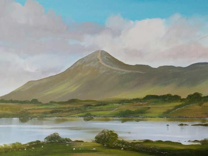 Cathal O Malley - croagh patrick