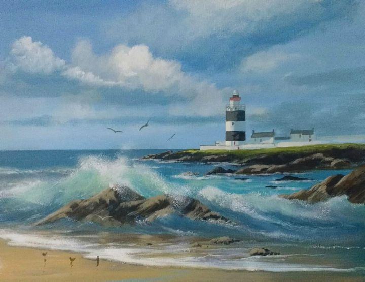 Cathal O Malley - summer waves,cleggan