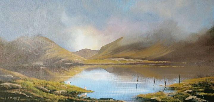 Cathal O Malley - misty-morning-connemara