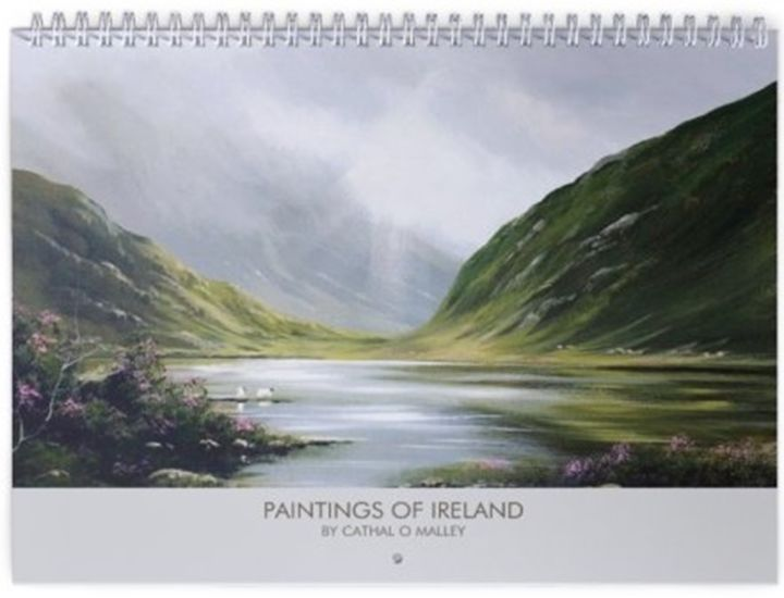 Cathal O Malley - CALENDAR OF MY PAINTINGS 2019