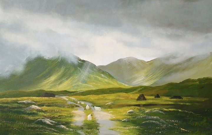 Cathal O Malley - road to connemara 2019
