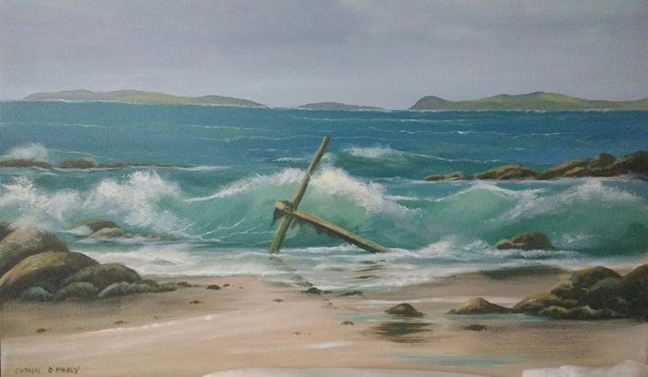 Cathal O Malley - anchor beach ,aughrisbeg