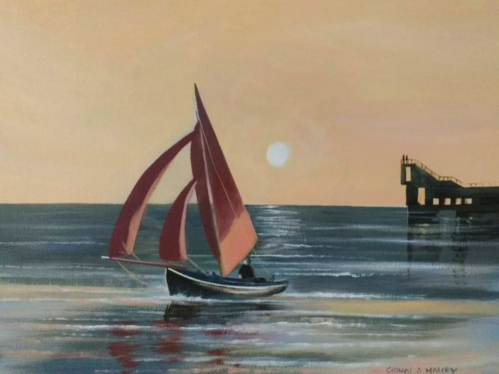 Cathal O Malley - galway bay sailing