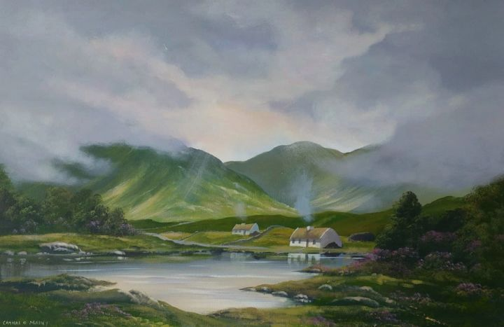 Cathal O Malley - connemara valley cottages.