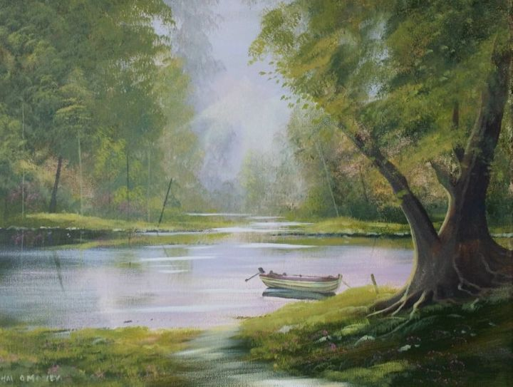 Cathal O Malley - larchill,,,forest shade