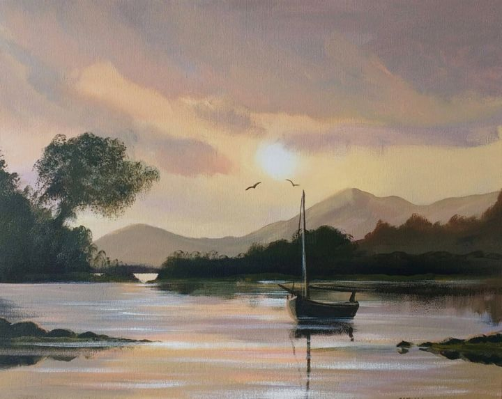 Cathal O Malley - croagh-patrick-reflections