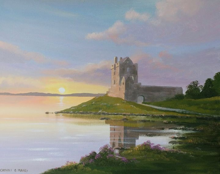 Cathal O Malley - dunguaire-castle-