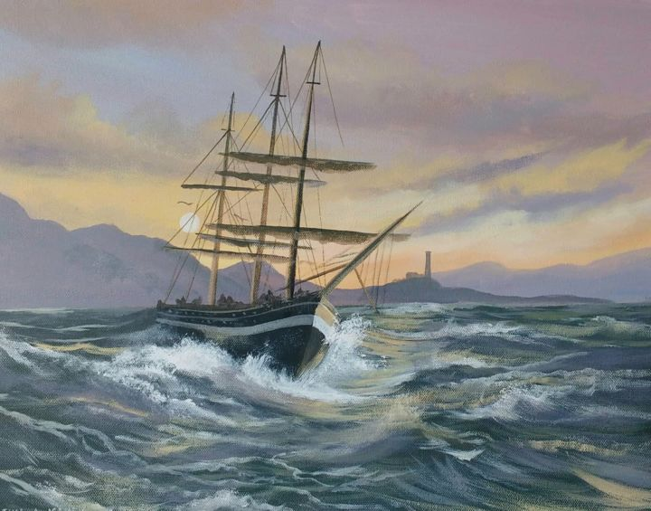 Cathal O Malley - west-coast-sailing.june