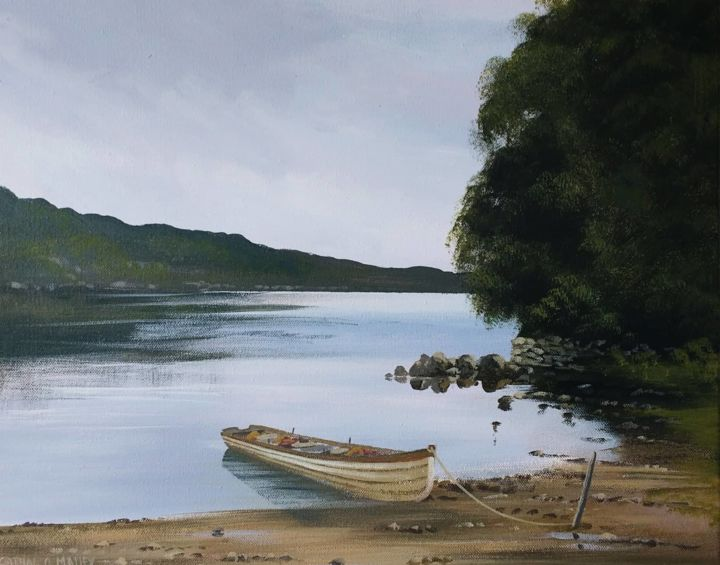 Cathal O Malley - tranquil lake