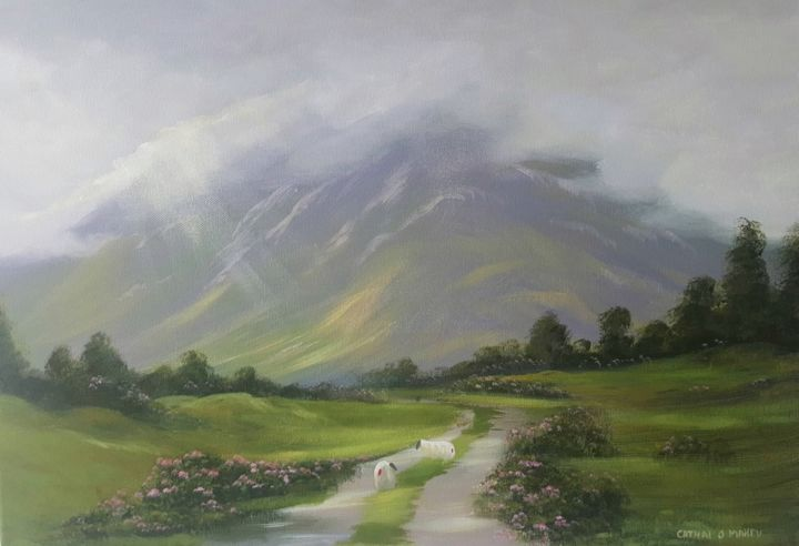 Cathal O Malley - connemara light,august