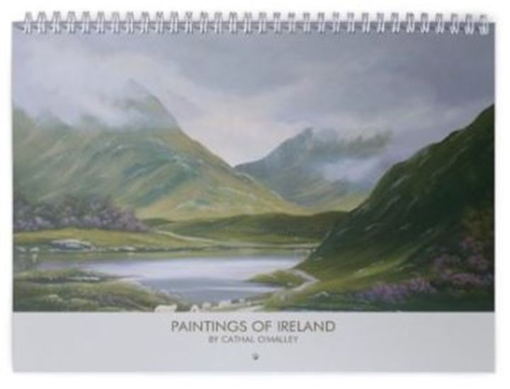 Cathal O Malley - 2020 Calendar of my work