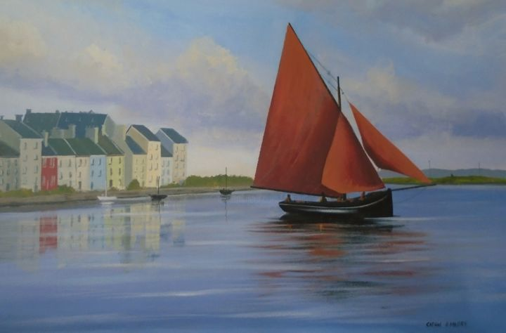 Cathal O Malley - claddagh hooker